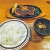 呂辺 - 料理写真:横綱ポーク!ご飯と赤出汁と共に若貴曙以来の巴戦だ!