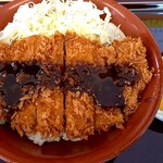かつふじ - 料理写真:ソースカツ丼(竹 120gロース)