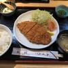 とんかつ・串揚げ 冨岳 - 料理写真:ヒレカツ定食(935円)
