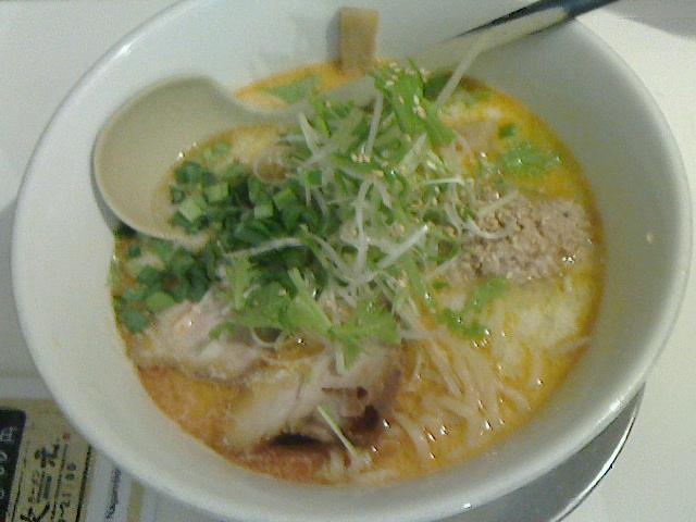 次元 - 塩タンタン麺780円
