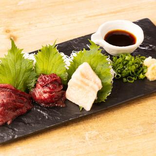 【熊本直送】厳選した馬肉料理