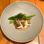 イタリア料理 スペランツァ - メイン魚料理 スズキ