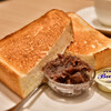 関口フランスパン - 料理写真:【トーストセット(こってり バター&小倉あん)@税込500円】トースト:初期状態