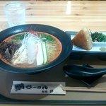 麺処 彩 - 鯛ラーメンと焼きおにぎりのセット