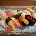 おたる鮨玄 - 日本海(3150円)