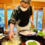 150660937 - ◎店主の伊藤さんは、人柄もとても優しく親しみやすい大将である。