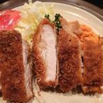 キッチン きく - ポークカツ850円
