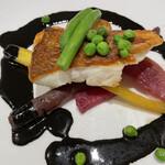 ロクロナン - ランチのメイン 魚