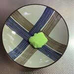 御菓子処 梅園 - 紫蘇?味。