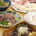 宮原酒場 もつ焼きエビス参 - 料理写真:朝〆、だから美味い。鮮度が自慢の味わい!!
