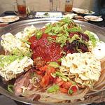 瑞園 - 鍋(加熱前、プテチゲ?)