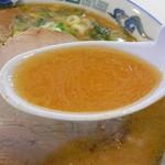 宇宙軒 - スープはこんな感じ