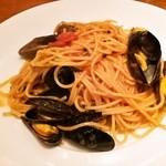 イル バッカ - モンサンミッシェル産ムール貝のスパゲッティーニ