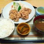 豊楽 - 料理写真:ワンコインランチ(唐揚)
