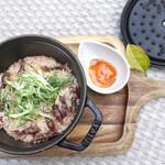 グッドモーニングカフェ  - ホタルイカと新生姜
