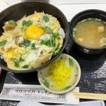 西谷食堂 花ぐるま - 料理写真:丹波黒どり親子丼
