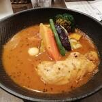 スープカレーlavi - チキンto野菜カレー