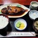 さくら - 煮魚定食(キンメ)¥1575