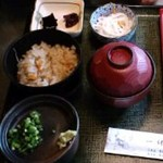 Ikkyuuan - 昼膳のかやくご飯等