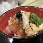 音の花温泉 音の花亭 - 料理写真:はまち丼