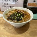 まっちゃんラーメン 一筋 - ブラックラーメン(辛さ2ひかえめ、ニンニク無し)