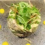 魚菜 由良 - アボカドと魚介のタルタル