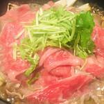 魚菜 由良 - 国産牛のすき焼き