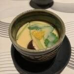 若紀久喜旬 - 穴子の茶碗蒸し