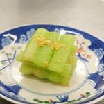 胡瓜の炒め