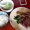 """Gyuutannishi - 料理写真:牛たん定食(大盛)。サービスの """" 南蛮の味噌漬け """" もいただきました"""