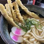 資さんうどん - 料理写真:ごぼ天うどん