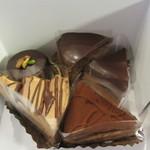 響香 - 各種チョコケーキ