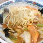 麺や 翔 - 五目あんかけラーメン 太麺