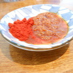 麺や 翔 - 辛味噌 辛さ増幅用