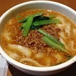 唐朝刀削麺 - ハーフ刀削麺タンタン味