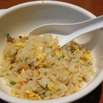 唐朝刀削麺 - チャーハン。なんか安っぽい味!?(笑)