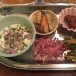 アララギ - 副菜3種・サラダ付