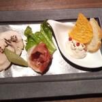 いちょう坂 - 前菜