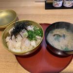 日本海 - のどぐろ丼しじみ汁セット