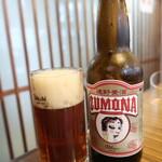 150732466 - 遠野麦酒ZUMONA「アルト」(クラフトビール):760円(二度注ぎ)
