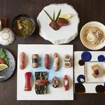 牛肉寿司 きんたん - 堪能1