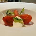 150734322 - ①水牛モッツァレラと宮崎産フルーツトマトのカプレーゼ