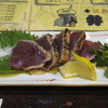 弁慶 - 料理写真:カツオのタタキ(塩)