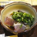 弁慶 - 付き出し(カツオのタタキ)