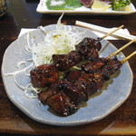 弁慶 - レバー焼き(3本)