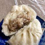 Gogoichihouraijeiarusanomiyaten - 豚まん[肉まん] ¥190