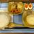麺 香厨 - 肉まん朝食