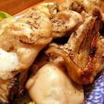 ささの葉 - 焼き牡蠣