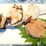 相州鳥ぎん - ニンニク焼き