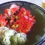 鈴木食堂 - 花咲蟹鉄砲汁
